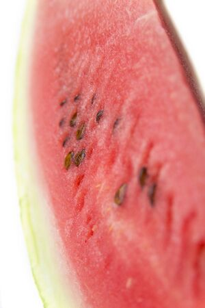 Watermelon on a white background Stock Photo