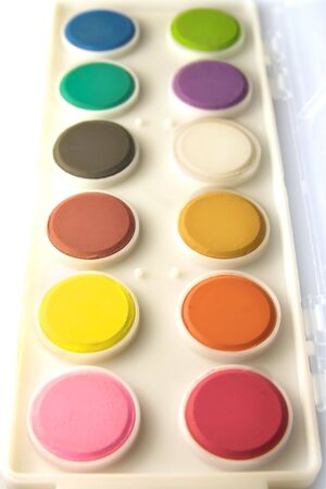 Water colours Stock Photo