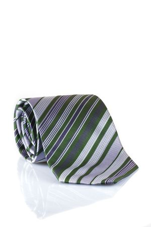 Tie on a white background