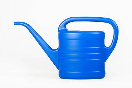 watering pot: Blue watering pot