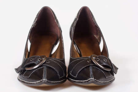 Pair of black lady shoes