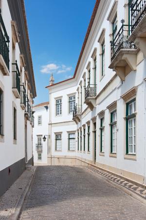 algarve: Street in Faro, Algarve, Portugal.