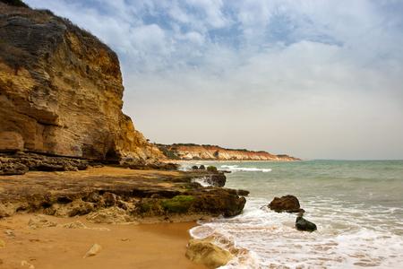 praia: Praia de Falesia in Algarve, Portugal.