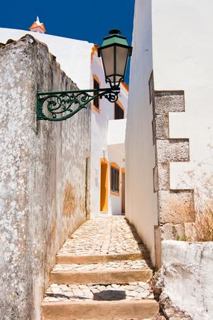 alte: Architecture in town of Alte, Portugal.