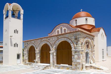 faade: Old chapel near Antimachia, Kos, Greece Stock Photo