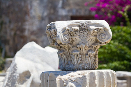 Old ruins in Kos Town, Kos, Greece