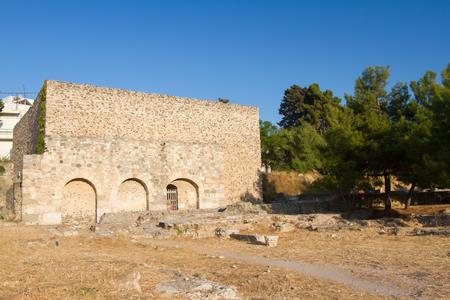 Agora archaeological site, Kos, Greece. Stock Photo