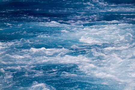 Surface of the sea - background Stock Photo