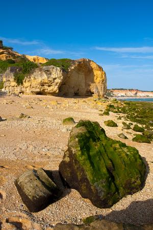 Praia de Falesia in Algarve, Portugal Stock Photo