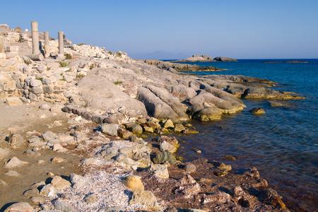 Ancient ruins on Kos Island, Greece.