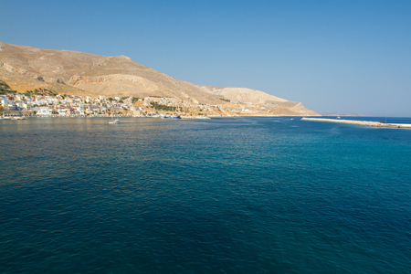 Vew to Kalimnos island, Greece.