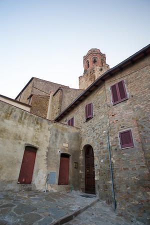Old church in Castiglione della Pescaia, Italy.