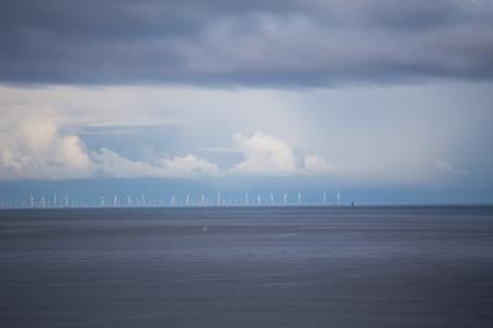 View to the sea, Knokke Heist, Belgium