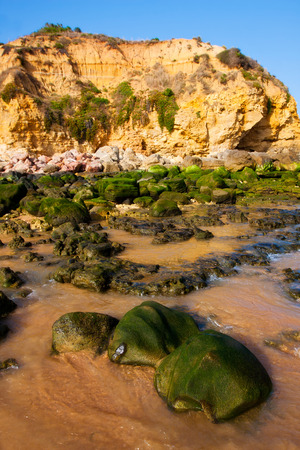Praia de Falesia in Algarve, Portugal.