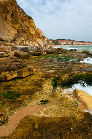 Praia de Falesia, Algarve in Portugal.