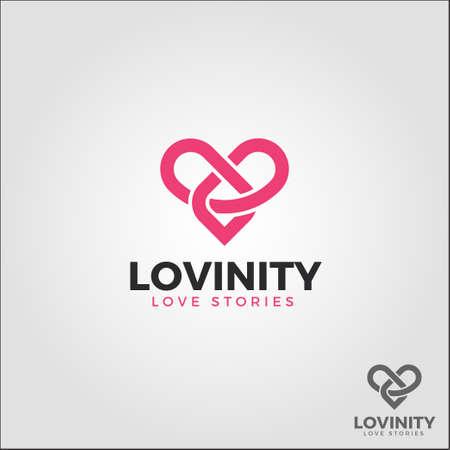 Lovinity / Infinity Love - Eternal Love Logo Logo