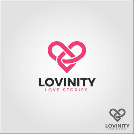 Lovinity  Infinity Love - Eternal Love Logo