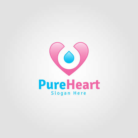 Pure Heart - Lovely Romance Logo
