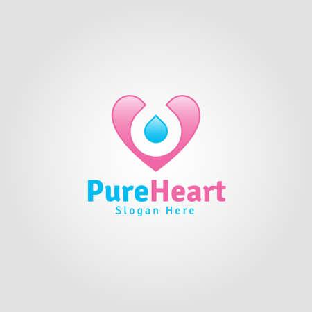 Pure Heart - Lovely Romance Logo