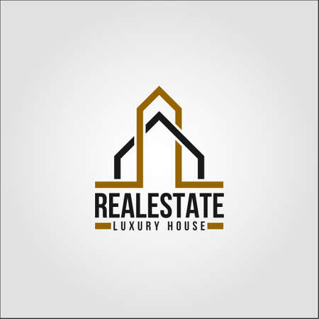 Real Estate - Plantilla de logotipo de propiedad de Elte Logos