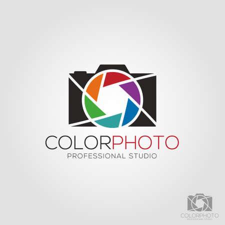 Color Photo - Photography Camera Logo Logo