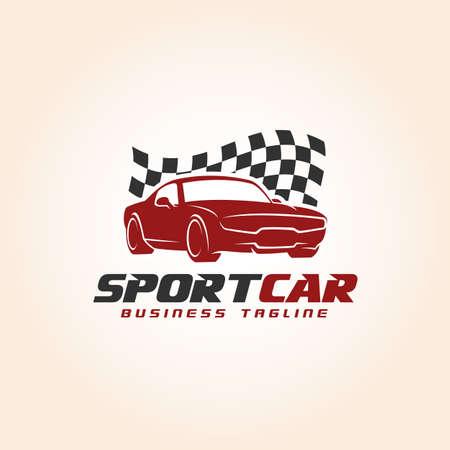 Sport Car - Auto Race Logo Template
