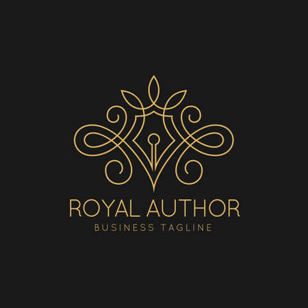 Royal Author Logo Template
