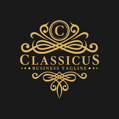 Classicus is a stylish letter C Logo template Illustration