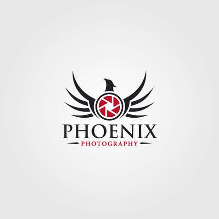 Logotipo de fotografía - Phoenix Photo Studio