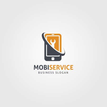professional Mobile service logo