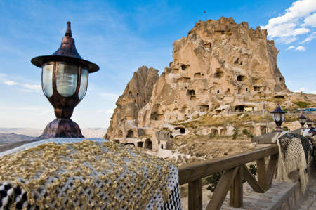 We can find Nevsehir inside the Pigeons Valley.