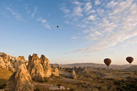 One of the more exciting experiences you can enjoy in the Cappadocia region is ballooning over their uniquely amazing valleys.