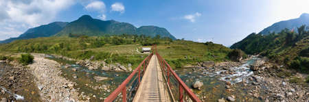 lien: Located at Lao Cai Province, northern Vietnam,  we find the Hoang Lien Mountain Range.