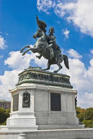 karl: Viennas Erzh Karl Statue