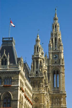 Viennas Cityhall building