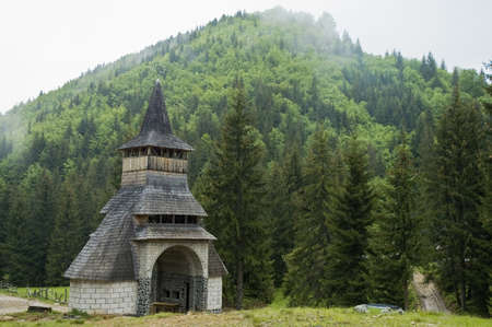 Sarbi, traditional church of northern Romania photo