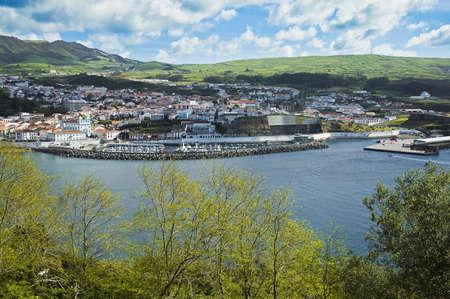 Angra do Heroismo at Terceira Island, Azores, Portugal.