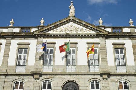 Municipality Chamber of Angra do Heroismo, Terceira, Azores, Portugal.