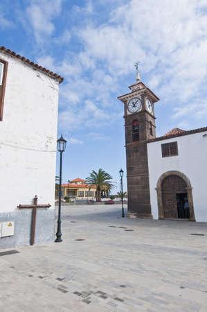 San Jose church at San Juan de la Rambla, Tenerife Island photo