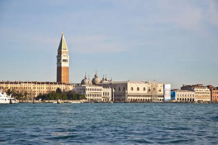 View of the San Marco channel from Giudecca located at Venice, Italy photo