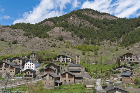 tourism in andorra: Sant Climent romanic church located at Pal, Andorra