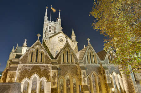 southwark: Southwark Cathedral located at London, England Editorial