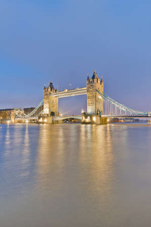Tower Bridge across Thames river at London, England Stock Photo - 13141067