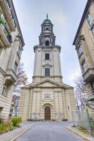 spandau: Sophienkirche (Sophias Church) is an evangelical church in the suburb of Spandau in Berlin, Germany Stock Photo