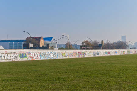 lasting: The East Side Gallery is the longest lasting open-air gallery in the world located at Berlin, Germany