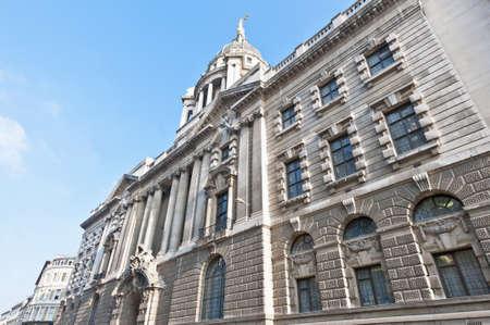 baileys: Old Baileys building located at London, England
