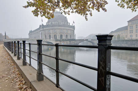 bode: Bode Museum located on Museum Island on Berlin, Germany