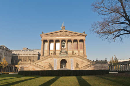 alte: Alte Nationalgalerie (Old National Gallery) located on Museum Island, Berlin, Germany
