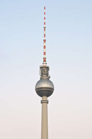 Fernsehturm (Television Tower) located at Alexanderplatz in Berlin, Germany