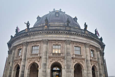bode: Bode Museum located on Museum Island, a UNESCO-designated World Heritage Site on Berlin, Germany Editorial